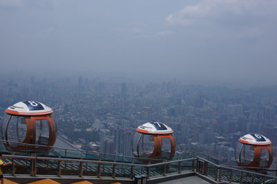 Guangzhou: Blick vom Turm