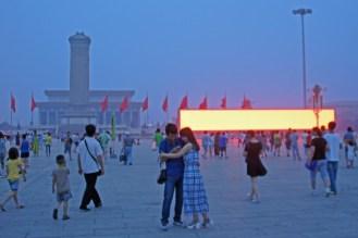 Abends in Beijing