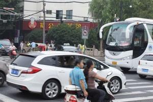 Straßenszene in Suzhou