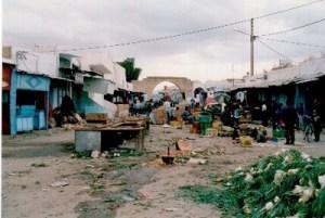 1998 auf dem Souk in Tunesien