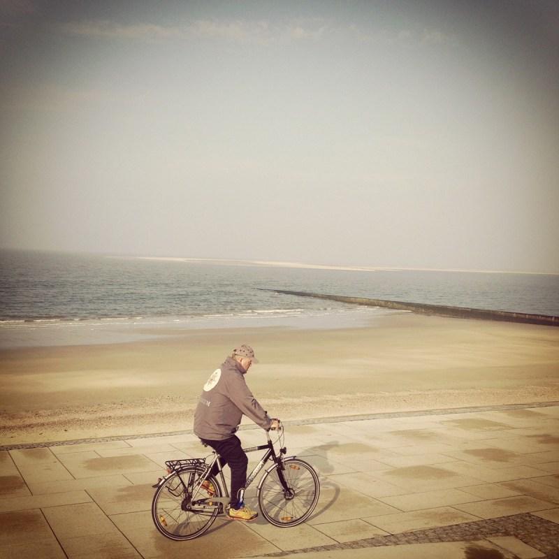 Fahrradfahren auf Borkum