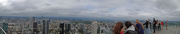 Panorama Frankfurt