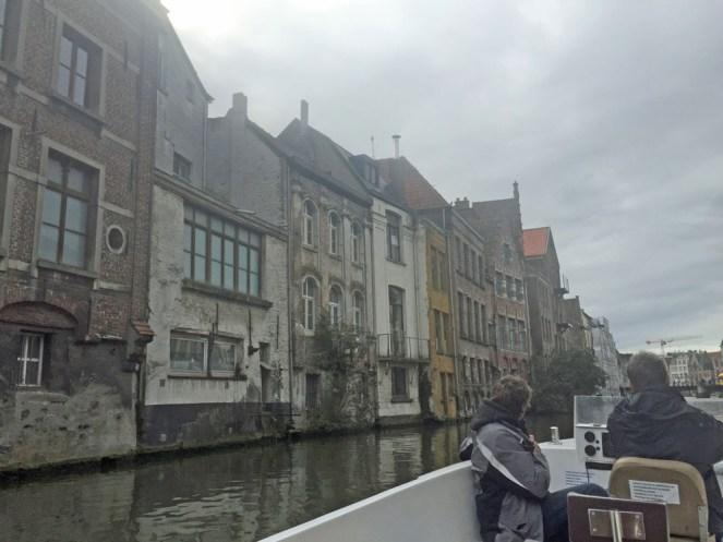 Mit dem Boot durch Gent