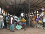 Markttag in Goa, Indien