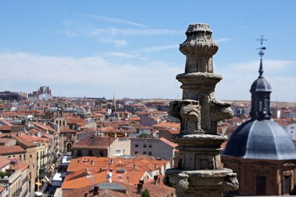 Über den Dächern Salamancas