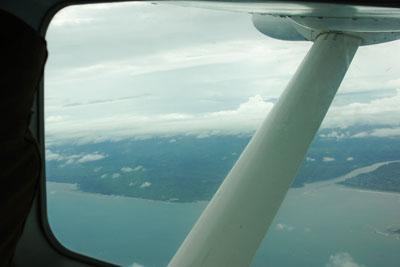 Flug von Tanga nach Sansibar