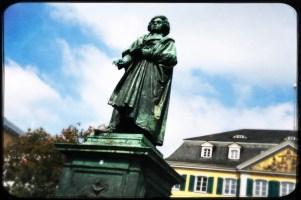 Münsterplatz mit Beethoven