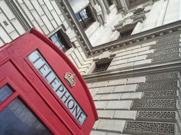Telefonzelle in London