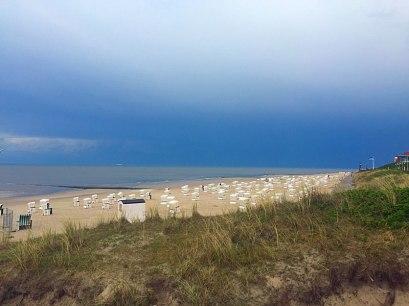 Am Strand von Wangerooge