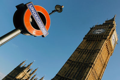 London: Big Ben und Underground