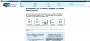 Die offizielle ESTA-Seite