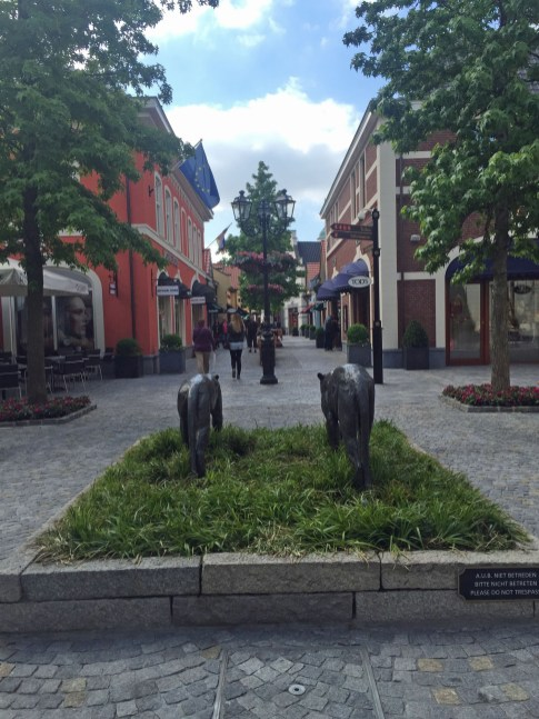 Im Outlet in Roermond