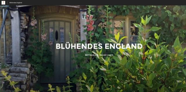 Bildergeschichte England