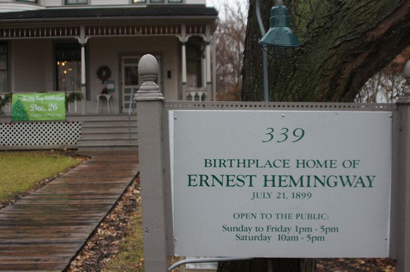 Hemingways Haus bei Chicago