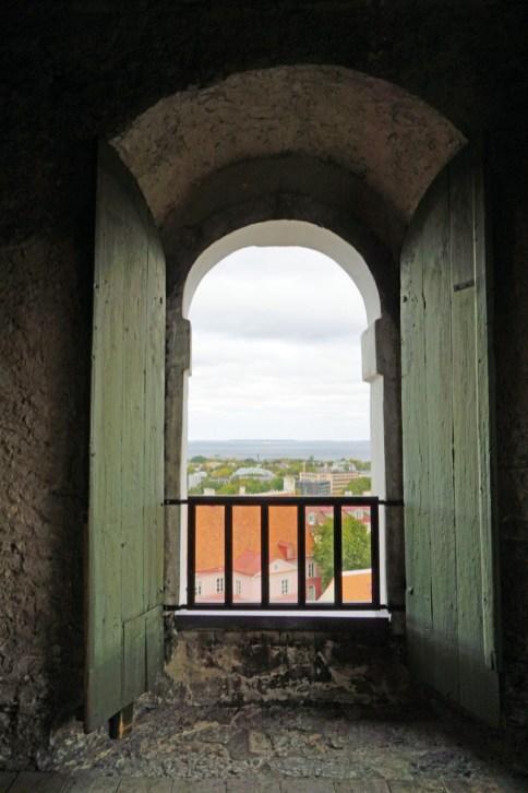 Blick aus dem Kirchturm
