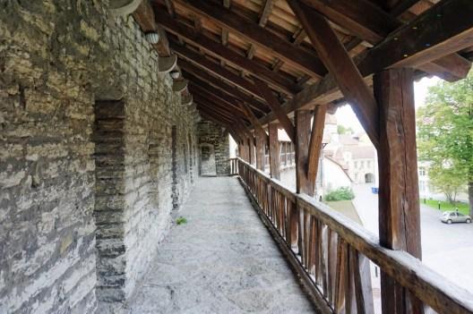 Stadtmauer in Tallinn