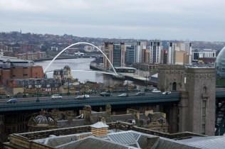 Newcastle von oben