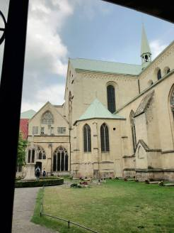 Um den Dom in Münster herum