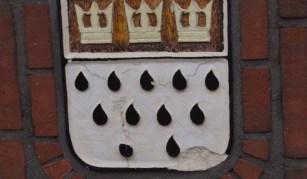 Pension in der Straße Im langen Wasser, Borkum