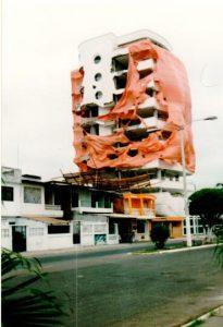 Nach dem Erdbeben an der Küste