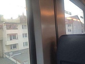 Mit dem Zug durch die Stadt