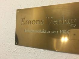 Beim Emons-Verlag