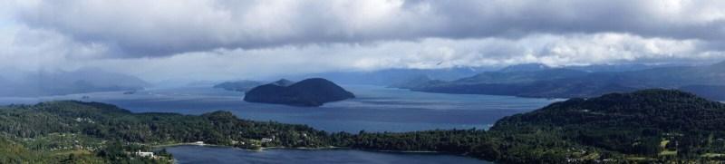 Seenlandschaft in Bariloche