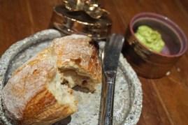 Brötchen mit marokkanisch gewürzter Butter