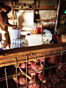 Beim Gemüsefachhändler
