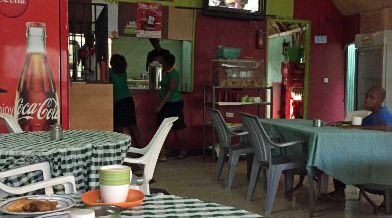 Frühstück im Green Park Café