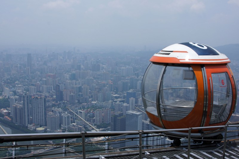 Guangzhou: Auf dem Turm