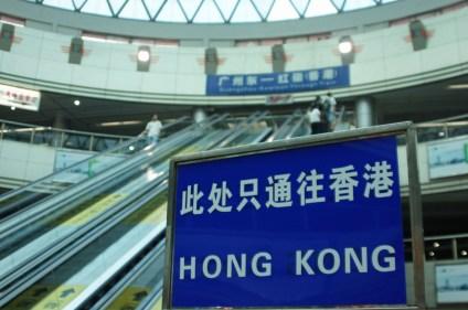 Rückfahrt nach Hong Kong