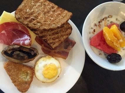 Frühstück in Cheltenham
