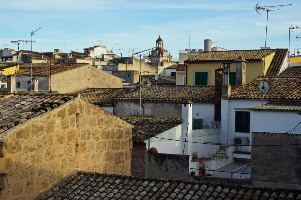 Alcudia von der Stadtmauer aus