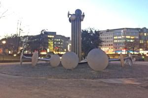 Brunnen auf dem Ebertplatz