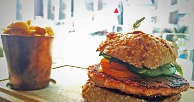 Lachs-Burger im Ritz Carlton in Wolfsburg