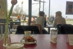 Café mit Ausblick
