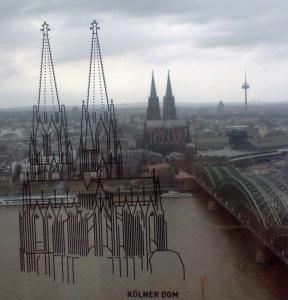 Vom LVR-Turm aus