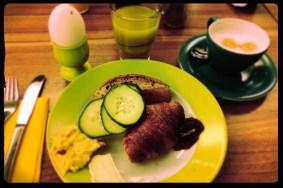 Frühstück in Frankfurt