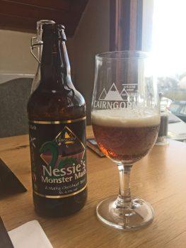 Monster Bier in Aviemore