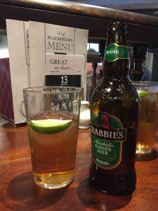 Ginger Beer mit Alkohol