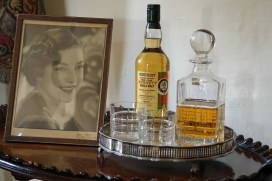Immer einen Whisky bereit