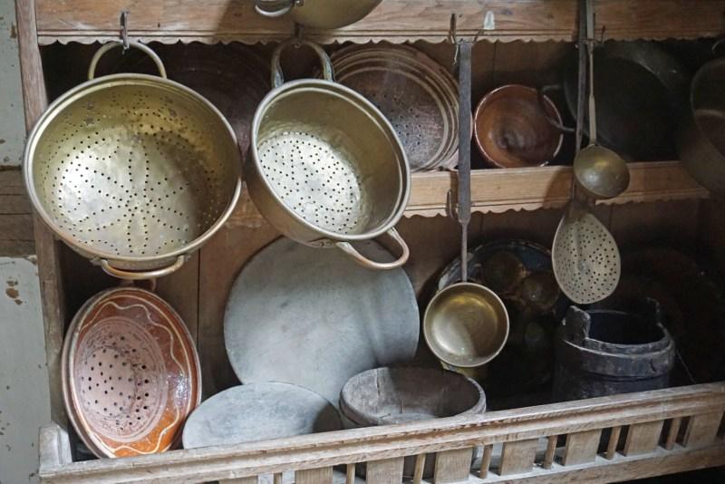 Küchenutensilien Freilichtmuseum in Detmold