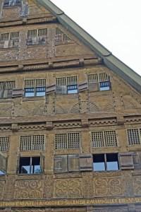 1632 erbautes Haus