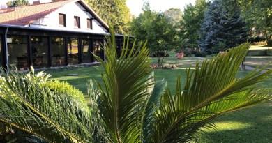 Der Garten im Kurhaus Pivittskrug