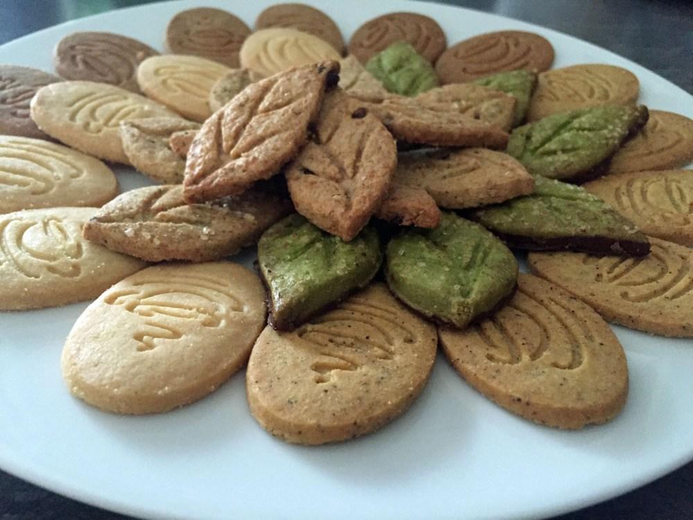 Ein Teller voller Kekse