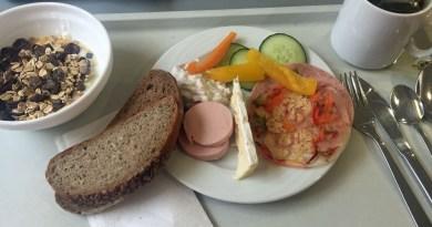 Frühstück in der Jugendherberge in Dortmund