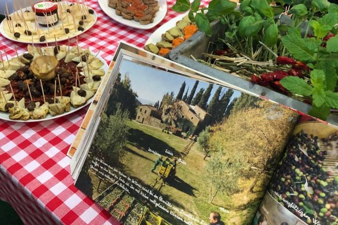 Italienische Snacks beim Instawalk durch die Gourmet Gallery