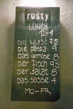 Eingängige Preise beim Lunch