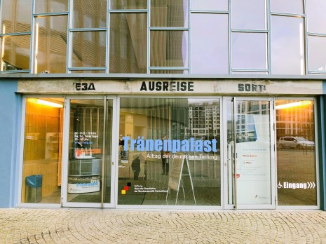 Der Tränenpalast in Berlin